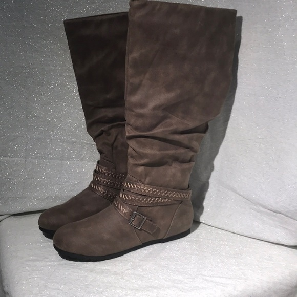 9aad5fb51f2 So Kohl's boots women's size 6 m brown new NWT